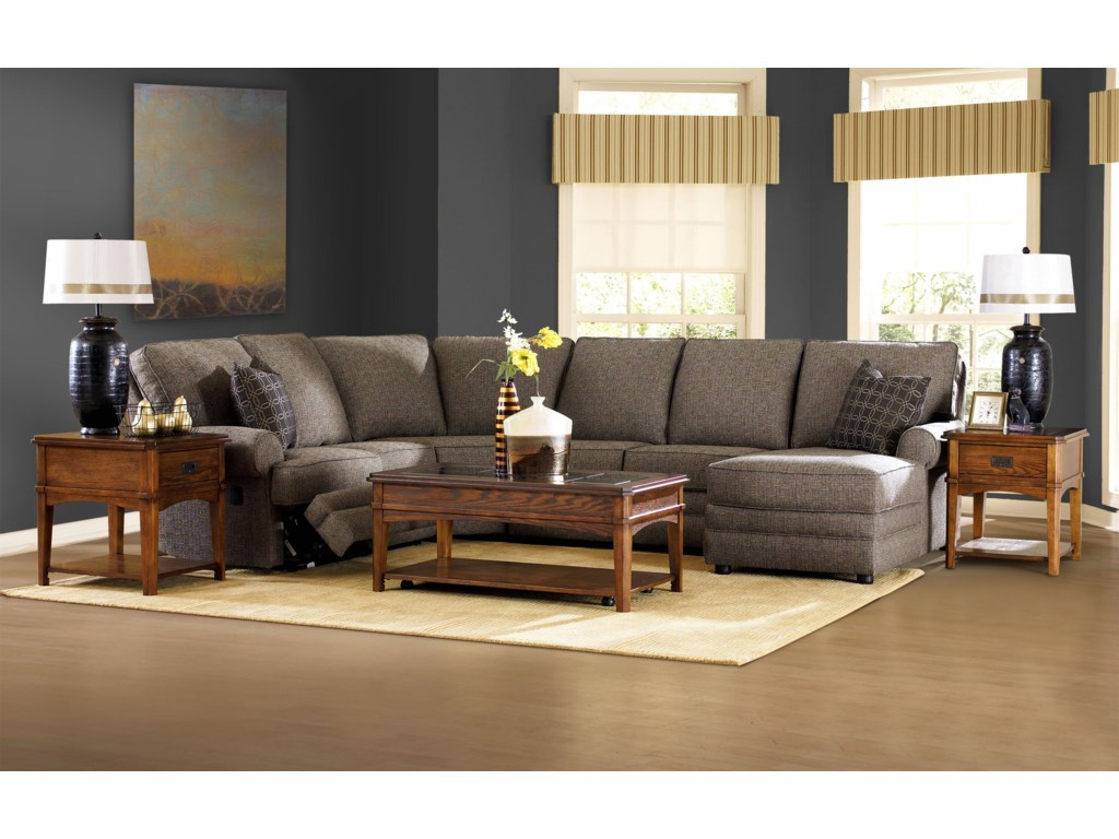 Klaussner BelleviewReclining Sectional