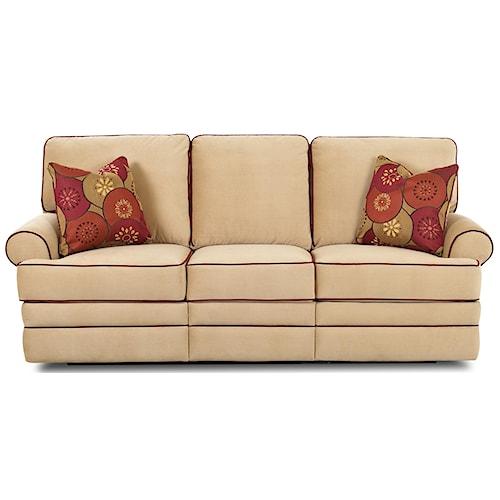 Klaussner Belleview Power Dual-Reclining Sofa