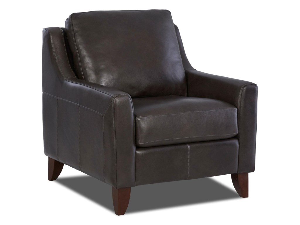 Simple Elegance CharliLeather Chair