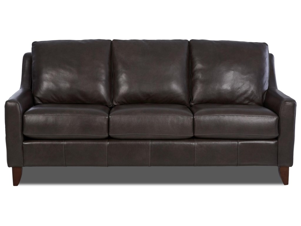 Simple Elegance CharliLeather Sofa