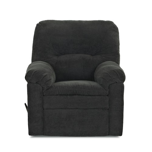Klaussner Bennington Casual Swivel Gliding Reclining Rocking Chair