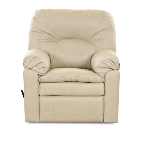 Klaussner Bennington Casual Gliding Reclining Rocking Chair