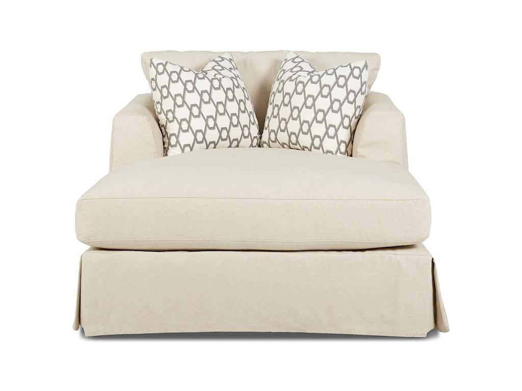 Klaussner BentleySlipcover Chaise