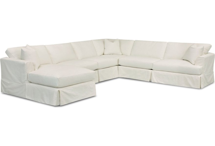 Bentley 5-Seat Sectional Sofa w/ LAF Chaise