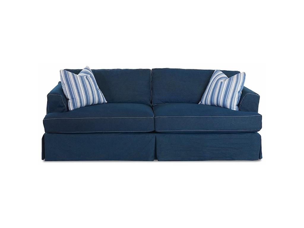 Klaussner BentleySlipcover Sofa