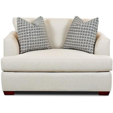 Big Chair Sleeper w/ Innerspring Mattress