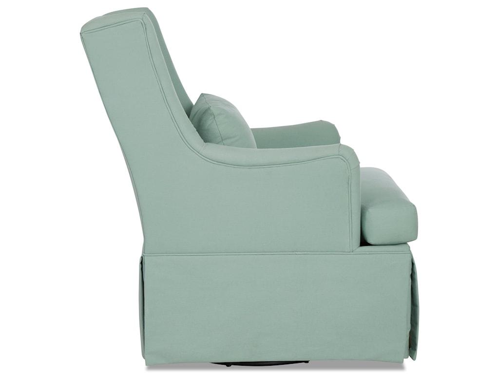 Klaussner BirdieSwivel Glide Chair