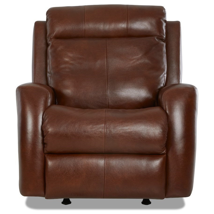 Contemporary Power Reclining Chair with USB Port