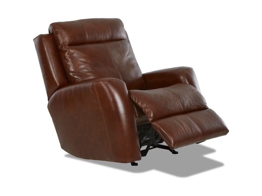 Klaussner BountyPwr Recliner w/ Pwr Head/Lumbar & Massage