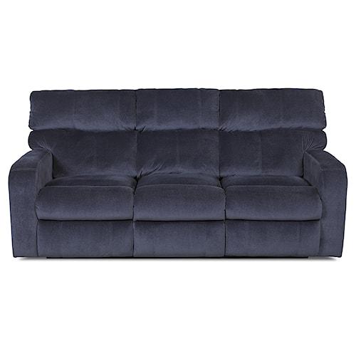 Klaussner Bradford Casual Power Reclining Sofa