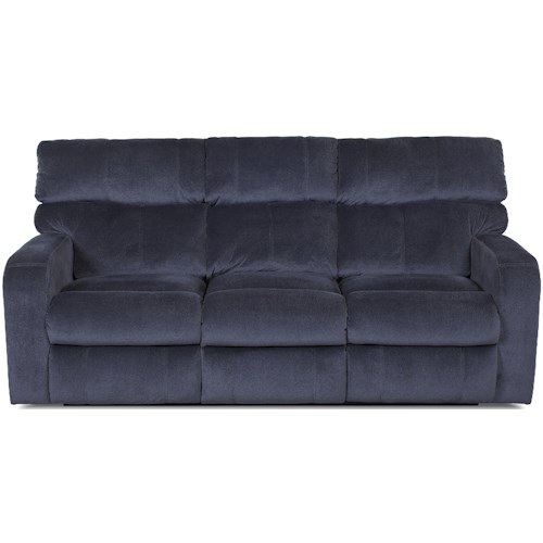 Klaussner Bradford Casual Power Reclining Sofa