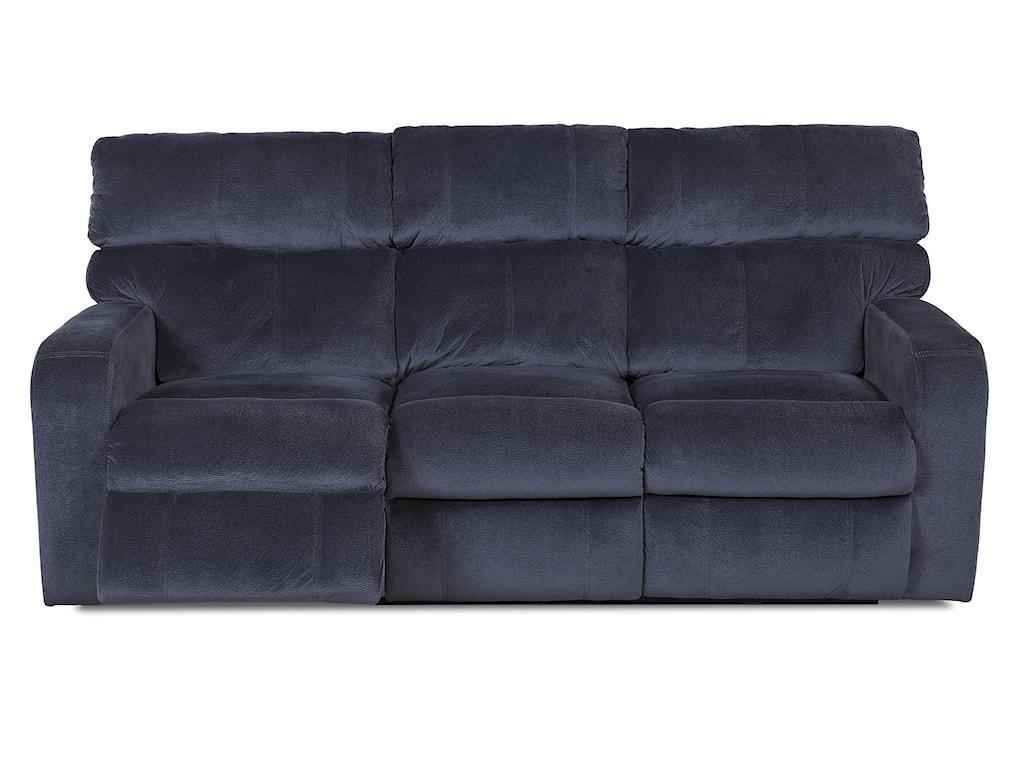 Klaussner BradfordCasual Reclining Sofa