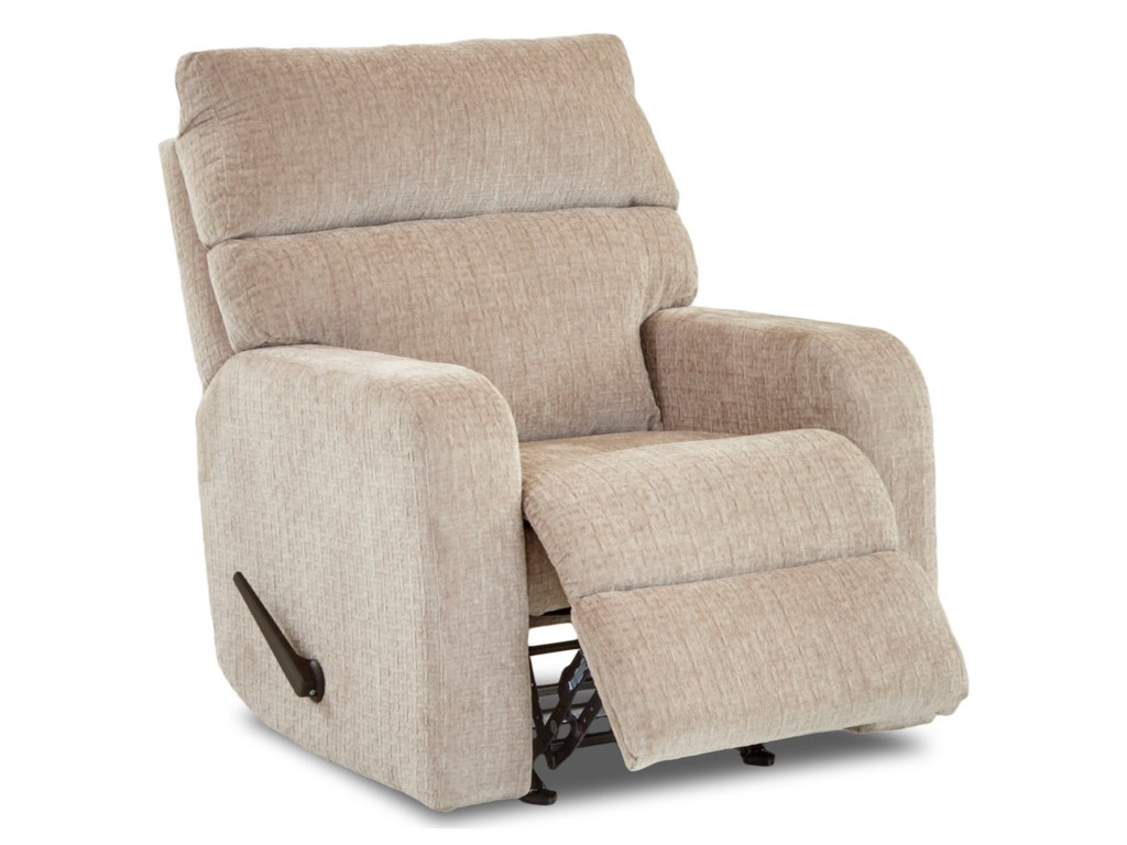 Klaussner BradfordCasual Swivel Gliding Reclining Chair