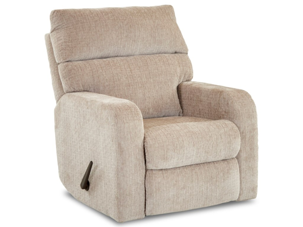 Klaussner BradfordCasual Swivel Rocking Reclining Chair