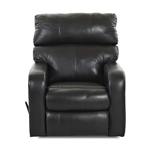 Klaussner Bradford Casual Swivel Rocking Reclining Chair