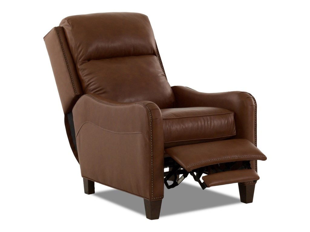 Klaussner BreezePower High Leg Reclining Chair w/ Nails