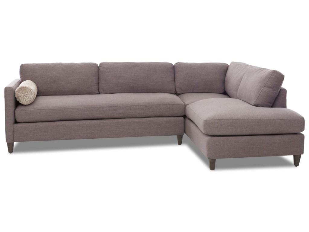 Klaussner Brinley2-Piece Sectional with Chaise
