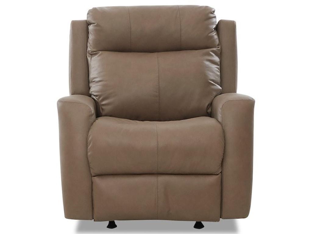 Klaussner BrooksPower Recliner w/ Pwr Headrest & Massage