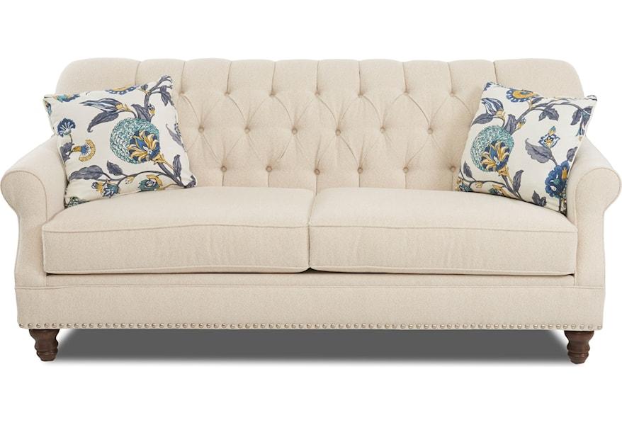 Tufted Apartment Size Sofa