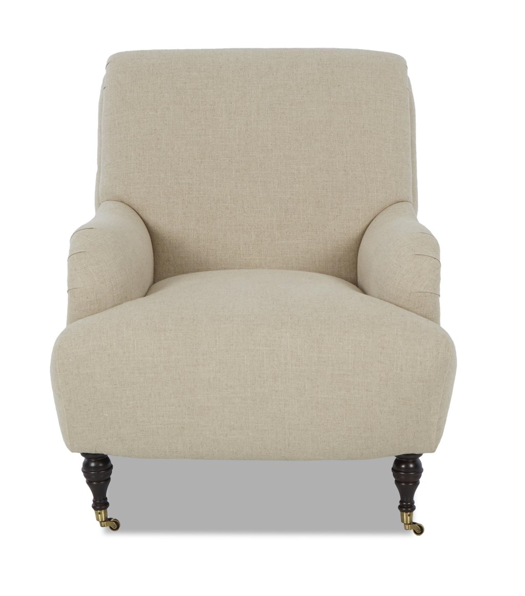 Home living room furniture upholstered chairs klaussner cameron traditional accent chair klaussner camerontraditional accent chair