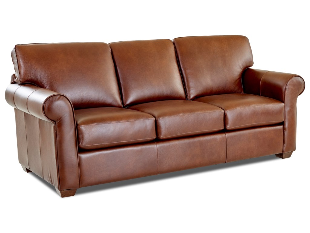 Klaussner Canoy3-Seater Stationary Sofa