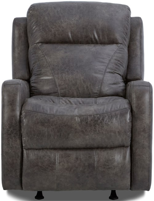 Klaussner Caprice Power Recliner with Power Headrest and Lumbar