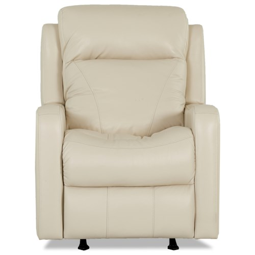 Klaussner Caprice Power Rocker Recliner with Power Headrest and Lumbar Support