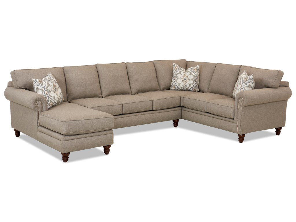 Klaussner Carter3 Pc Sectional Sofa