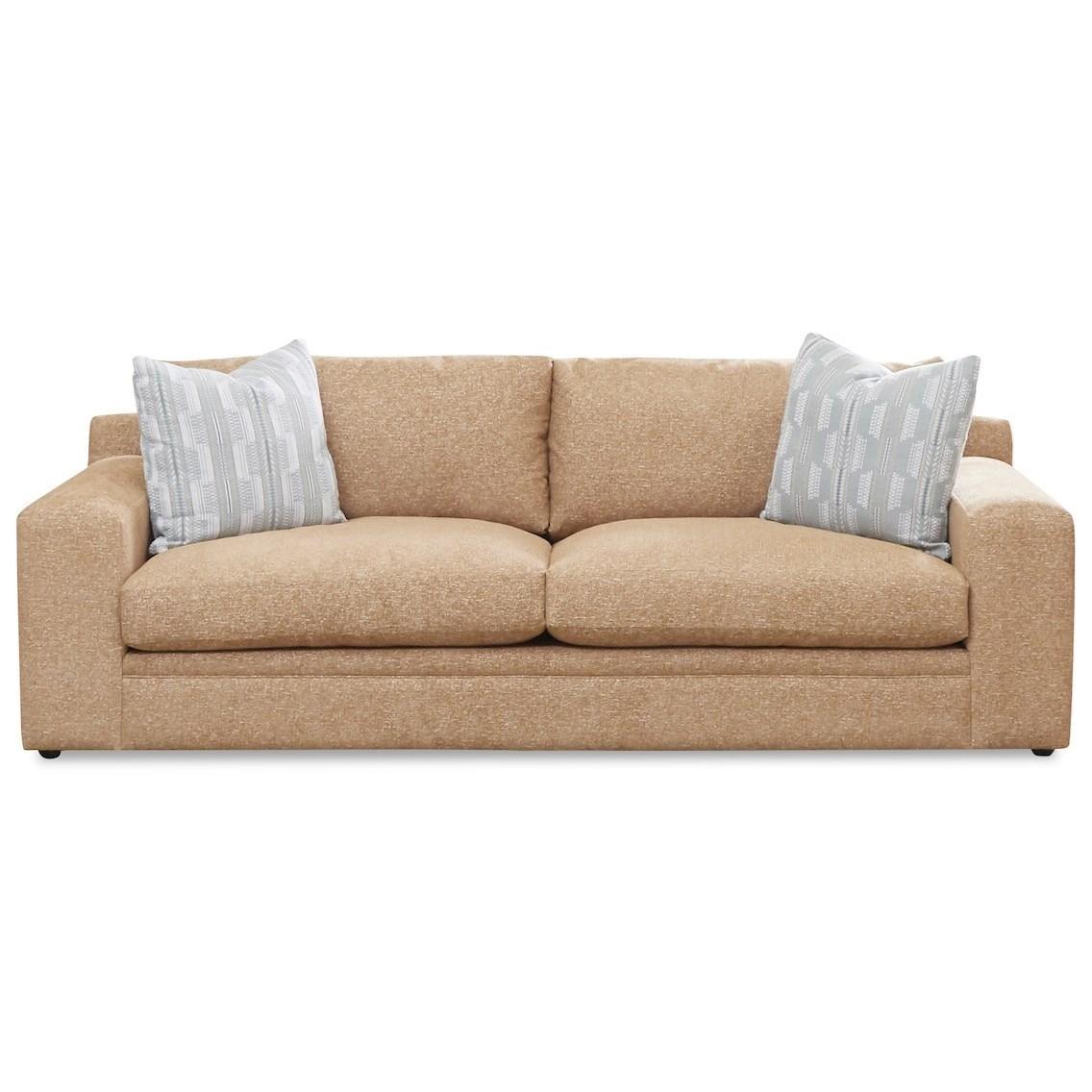 Casual Sofa with Deep Seats