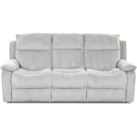 Casual Reclining Sofa