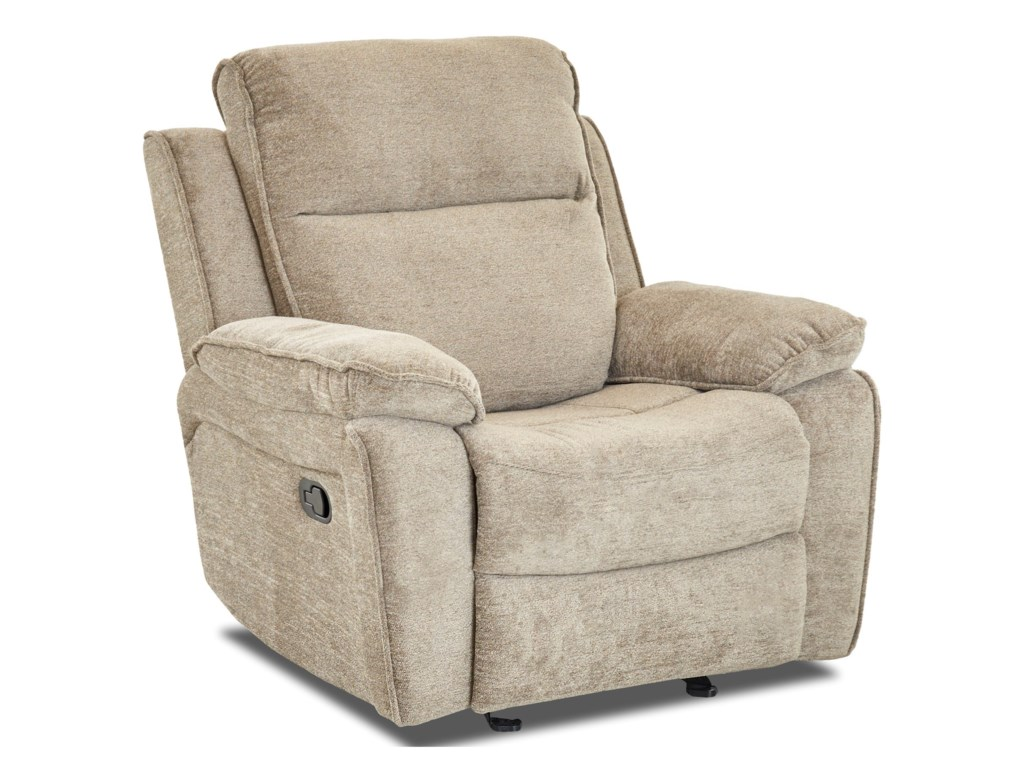 Klaussner CastawayCasual Gliding Reclining Chair