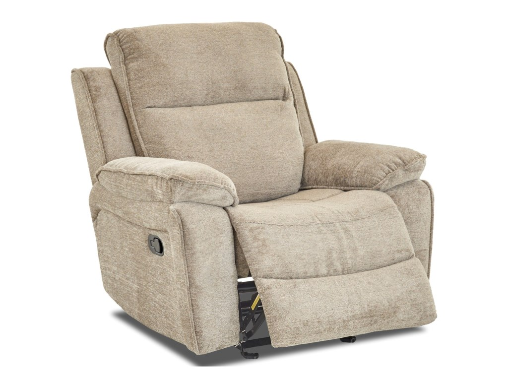 Klaussner CastawayCasual Swivel Rocking Reclining Chair