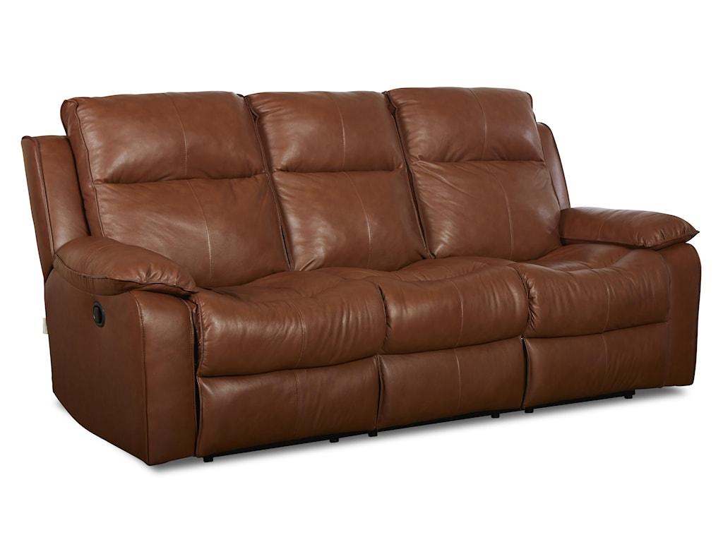 Klaussner CastawayCasual Power Reclining Sofa