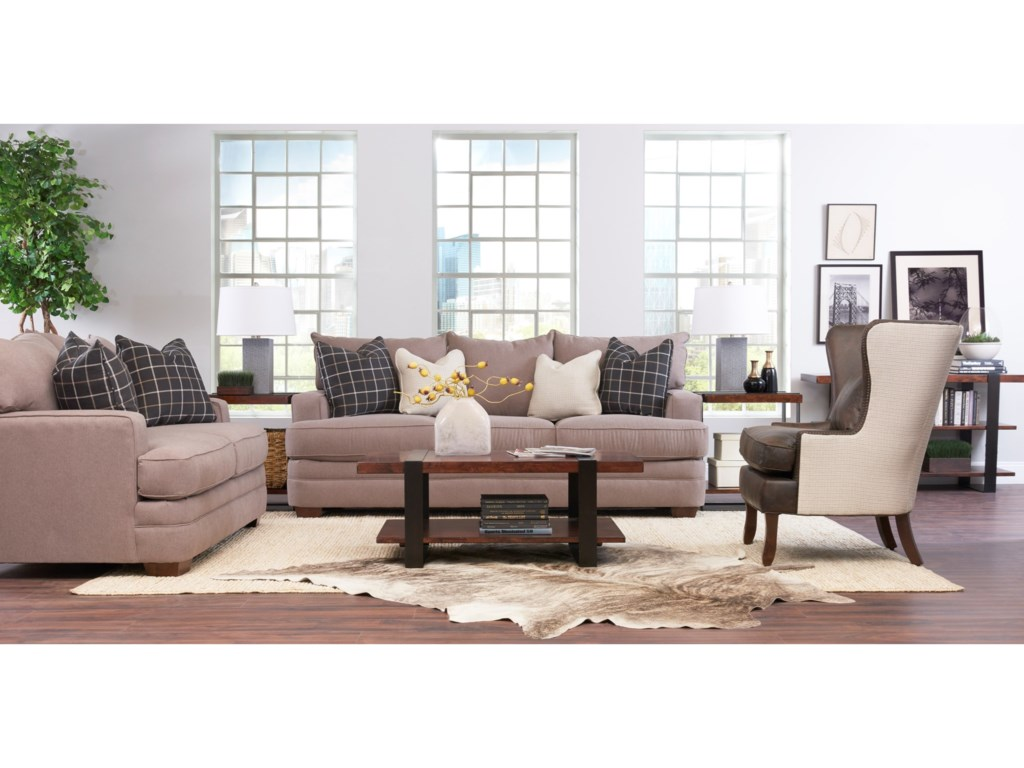 Klaussner ChadwickLiving Room Group