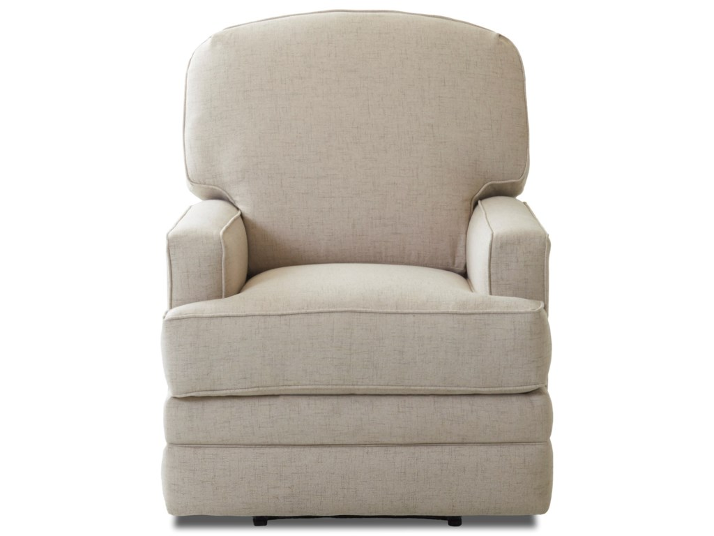 Klaussner ChapmanCasual Gliding Reclining Rocking Chair