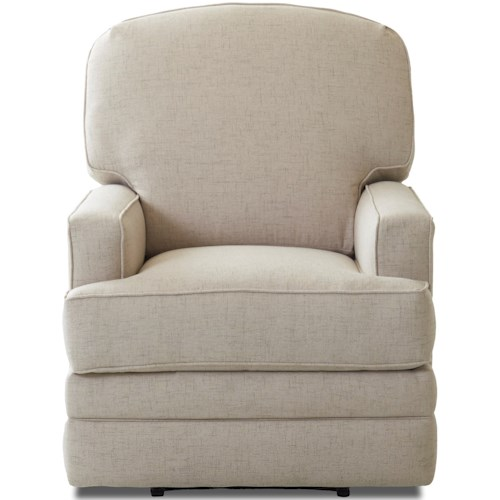Klaussner Chapman Casual Swivel Gliding Reclining Chair