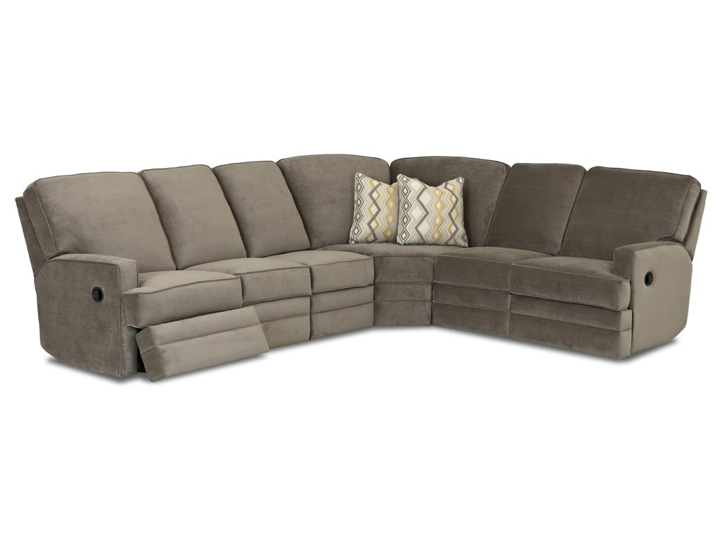 Klaussner ChapmanCasual Reclining Sectional Sofa