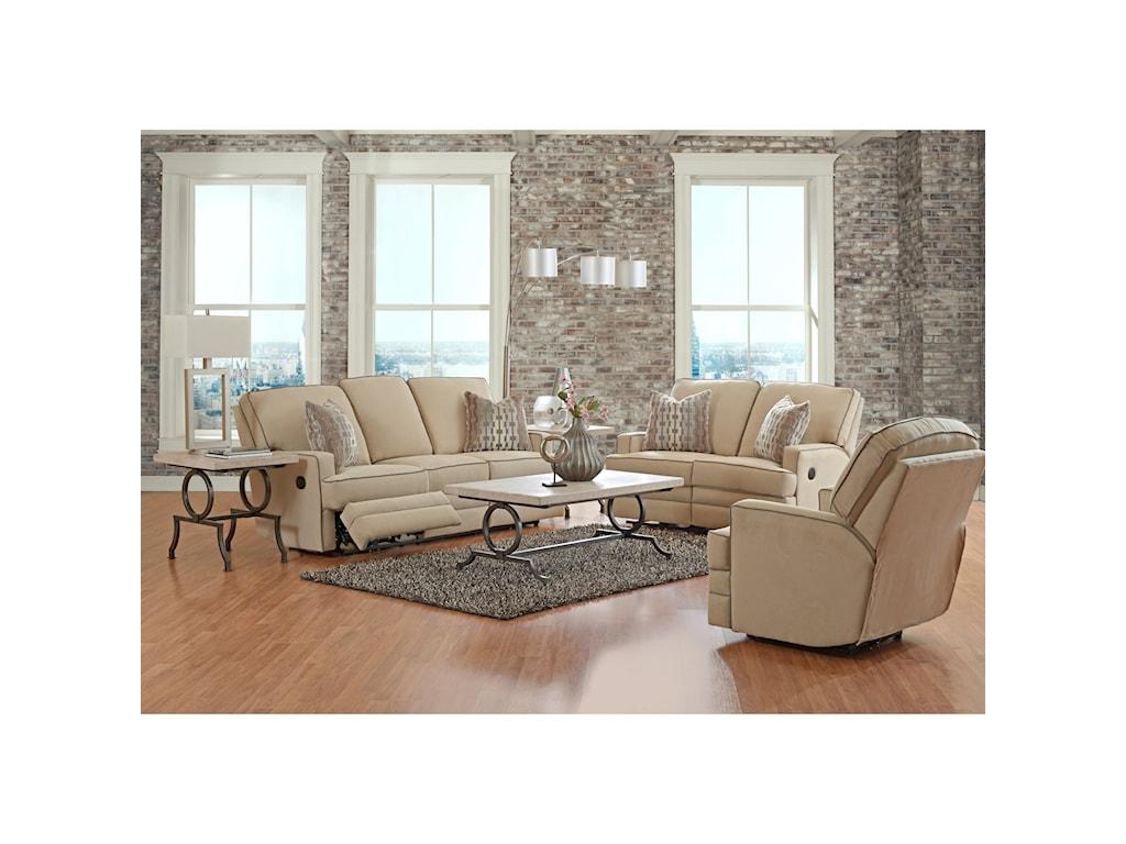 Klaussner ChapmanCasual Power Reclining Sofa