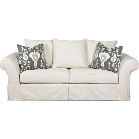 Sofa with Scatterback Pillows