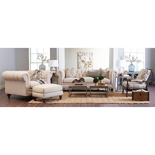 Klaussner Charlotte Living Room Group