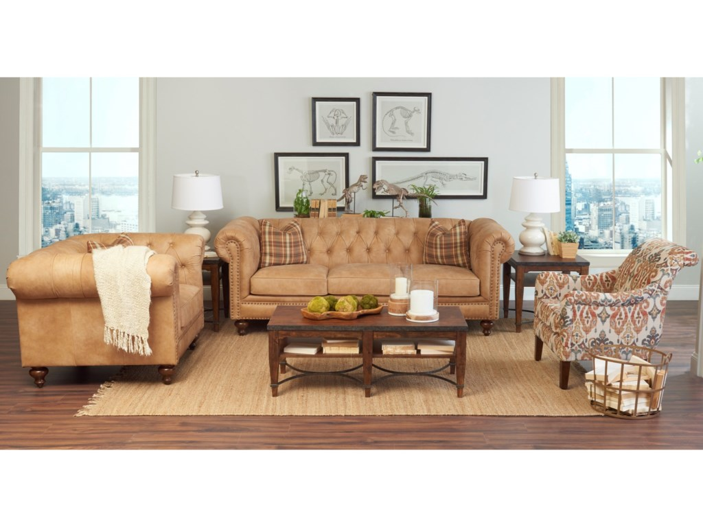 Klaussner Charlotte Chair and 1/2