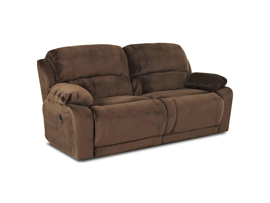 Klaussner CharmedReclining Sofa