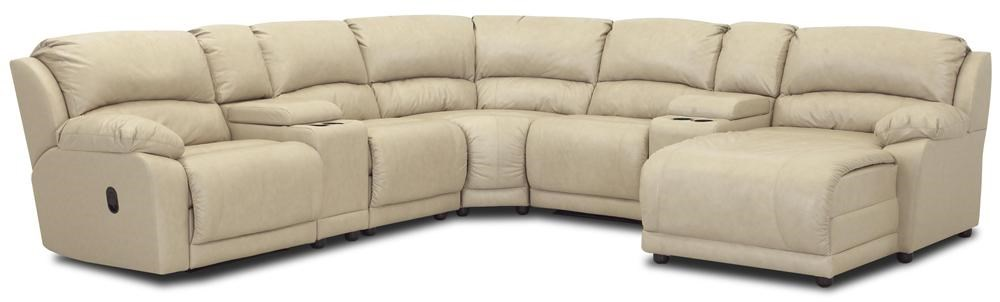 Klaussner Charmed Seven Piece Sectional with Storage Consoles J