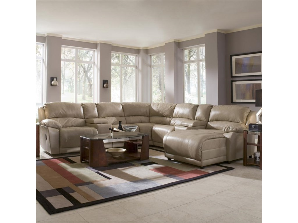 Klaussner CharmedSeven Piece Sectional