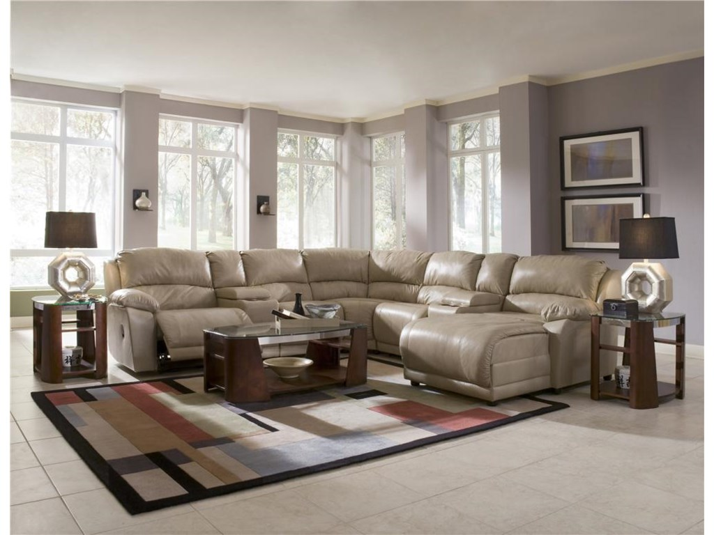 Shown in Living Room with Open Recliner