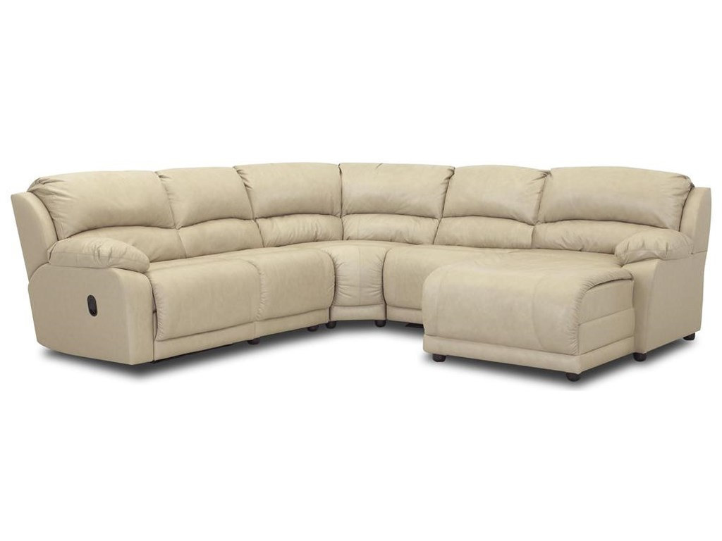 Klaussner Charmedfive Piece Sectional Sofa
