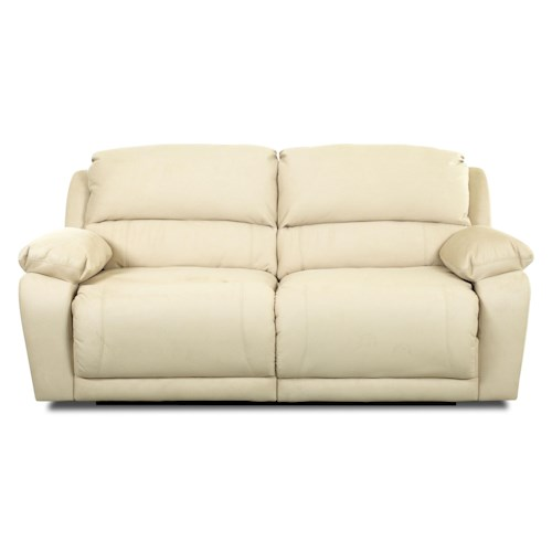 Klaussner Charmed Power Double Reclining Sofa