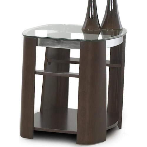 Klaussner International Christina Square End Table