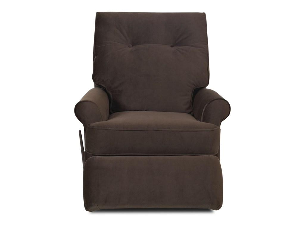 Klaussner ClearwaterTransitional Reclining Rocking Chair