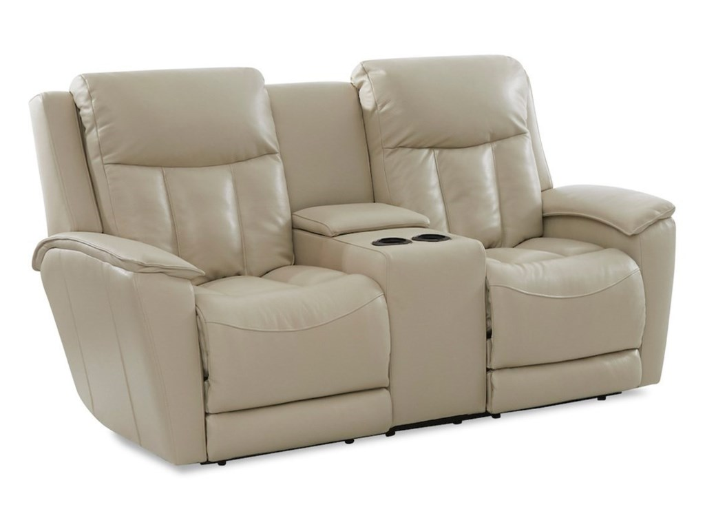 Klaussner CliffordConsole Reclining Loveseat